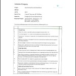 Sample Snag List in Construction