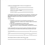 Sample Talent Release Form