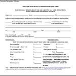 Sample Travel Authorization Form
