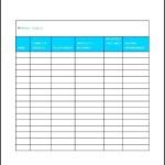 Sample Wedding Guest List Template