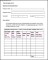 Sample Weekly Time and Wage Records Template
