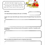 Santa Letter Template Example