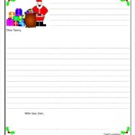 Santa Letter Template Free