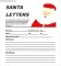 Santa Letter Template Free Printable