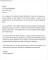 Scholarship Appreciation Letter