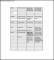 School Class List Template Free