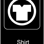 Shirt Required Sign Template