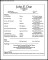 Simple Acting CV Template