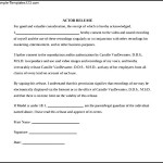 Simple Actor Release Form