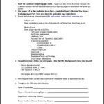 Simple Background Check Authorization Form