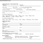 Simple Background Check Form