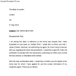 Simple Bank Authorization Letter