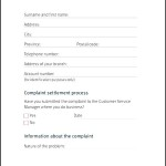 Simple Banking Ombudsman Complaint Form