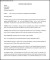 Simple Company Letter of Intent Template Printable Doc
