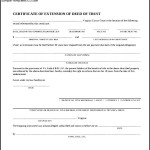 Simple Deed Trust Form