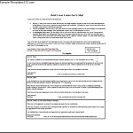 Simple Email Cover Letter Sample PDF Template Free Download