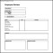 Simple Employee Review Form