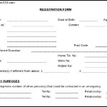 Simple Example For Child Medical Consent Form