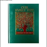 Simple Family Tree Book Template Example
