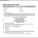 Simple Hipaa Release Form