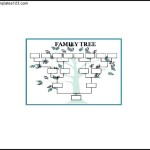 Simple Large Family Tree Word Free