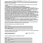 Simple Letter Agreement for the Transfer of Materials Printable