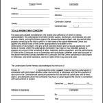 Simple Lien Release Form