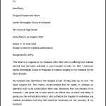 Simple Medical Authorization Letter