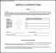 Simple Medical Clearance Form