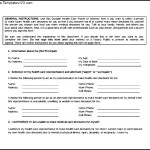 Simple Medical Power of Attorney Form