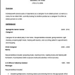 Simple Resume for Law Template