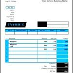 Simple Service Invoice Template