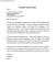 Simple Teacher Cover Letter Example