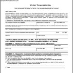 Simple Workers Compensation Form