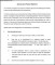 Special Leave Practice Statement Template