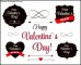 St Valentine Day's Labels