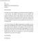 Standard Business Letter Format Sample