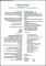 Standard CV Format Sample