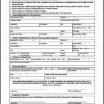 Standard Medical Claim Form