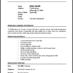 Store Manager Resume Format