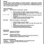 Student CV Template Free