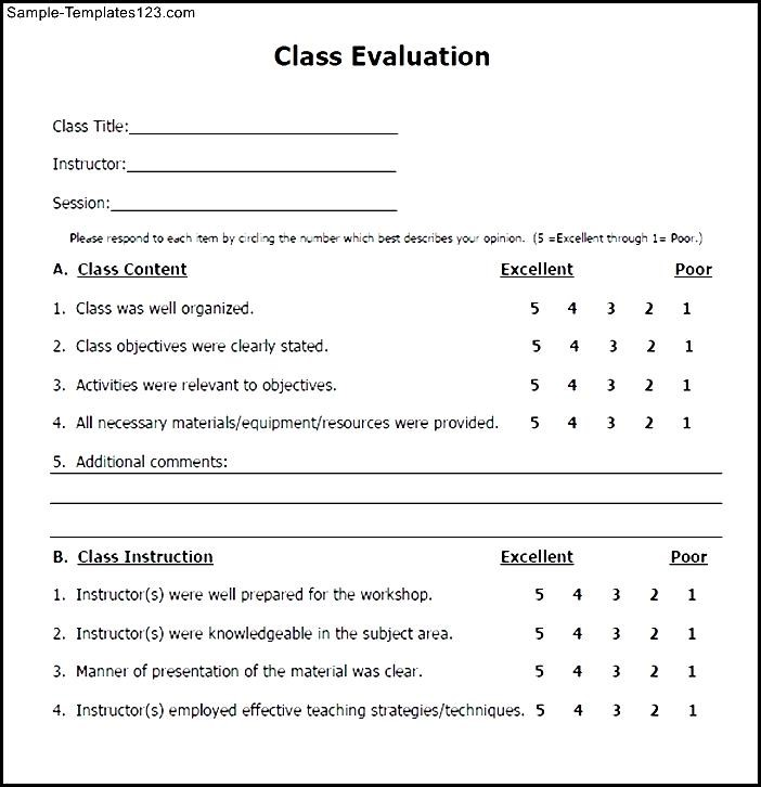 Best Sample Student Evaluation Forms Ideas Best Resume Examples – Sample Student Evaluation Form