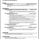 Student Resume Microsoft Word Templates