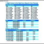 Superstar Libra Cruise Itinerary Template