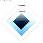 Target Diagram (Diamond) Template
