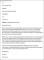 Teacher Resignation Letter Example