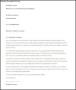 Terminating Tenancy Letter by Landlord in Word