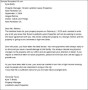 Termination Letter From Landlord To Tenant