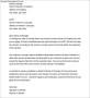 Termination Letter of Vendor Service