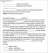 Termination Service Contract Letter